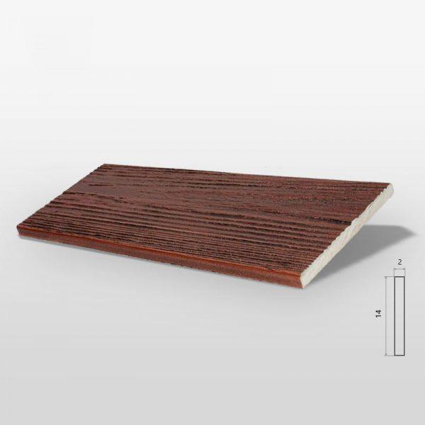 Decor System Panel Elewacyjny Drewnopodobny Orzech